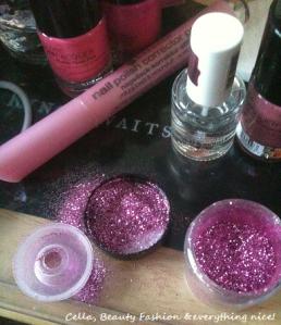 nails glitter fail